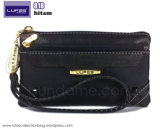 dompet lufas 818 hitam