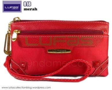 dompet lufas 818 merah