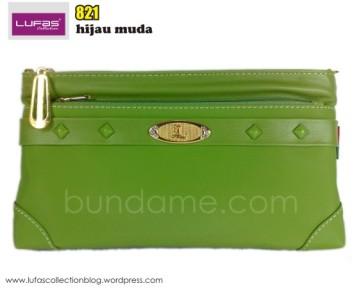 tas lufas 821 hijau muda