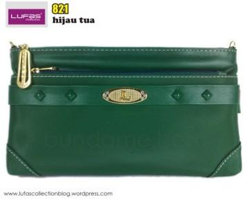 tas lufas 821 hijau tua