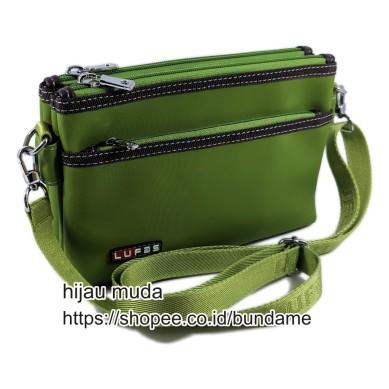 tas lufas 822 hijau muda
