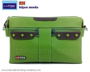 tas lufas 824 hijau muda