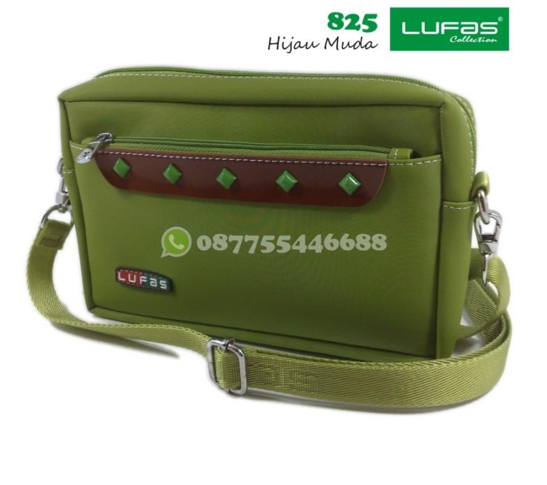 tas lufas 825 hijau muda
