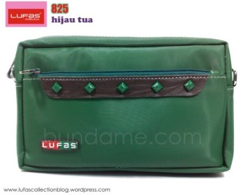 tas lufas 825 hijau tua