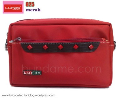 tas lufas 825 merah