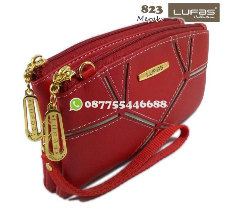 dompet lufas 823 merah