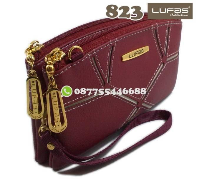 dompet lufas 823 tampak depan