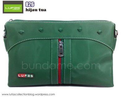 tas lufas 826 hijau tua