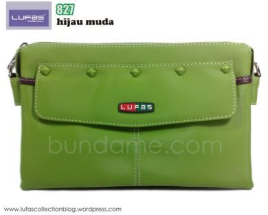 tas lufas 827 hijau muda 1