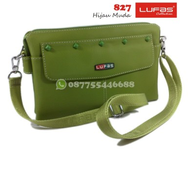 tas lufas 827 hijau muda