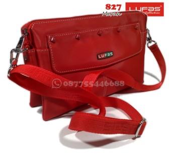 tas lufas 827 merah