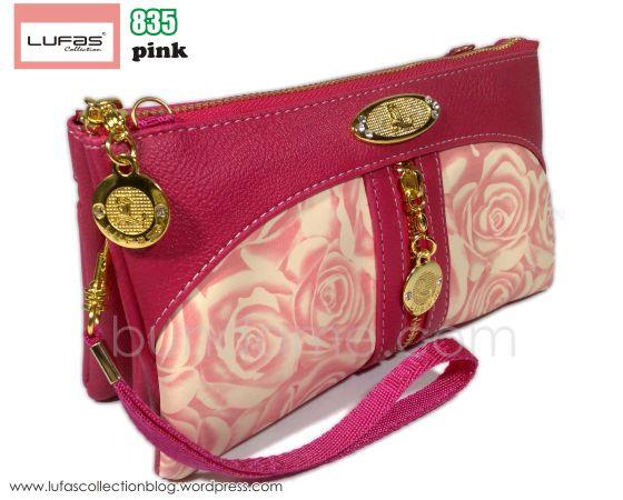 dompet lufas 835 pink