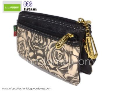 dompet lufas 836 hitam