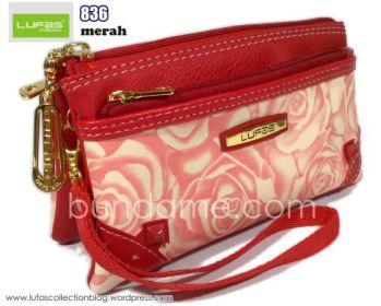dompet lufas 836 merah