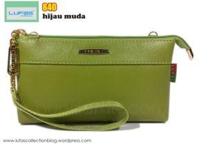 dompet lufas 840 hijau muda