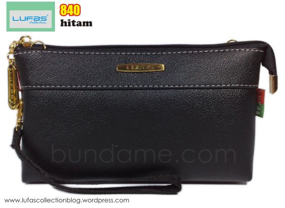 dompet lufas 840 hitam