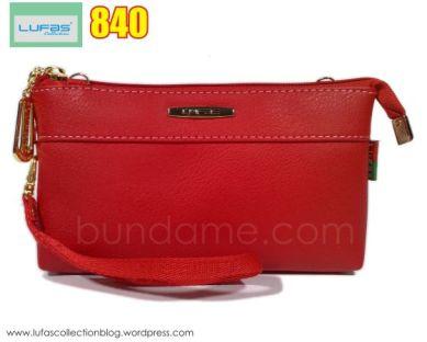dompet lufas 840 merah 01