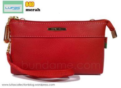 dompet lufas 840 merah