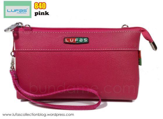 dompet lufas 840 pink