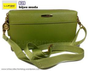 tas lufas 839 hijau muda