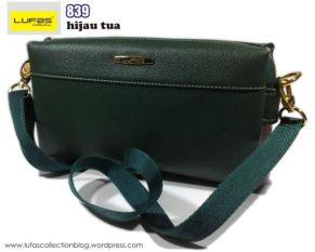 tas lufas 839 hijau tua