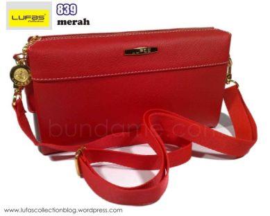 tas lufas 839 merah