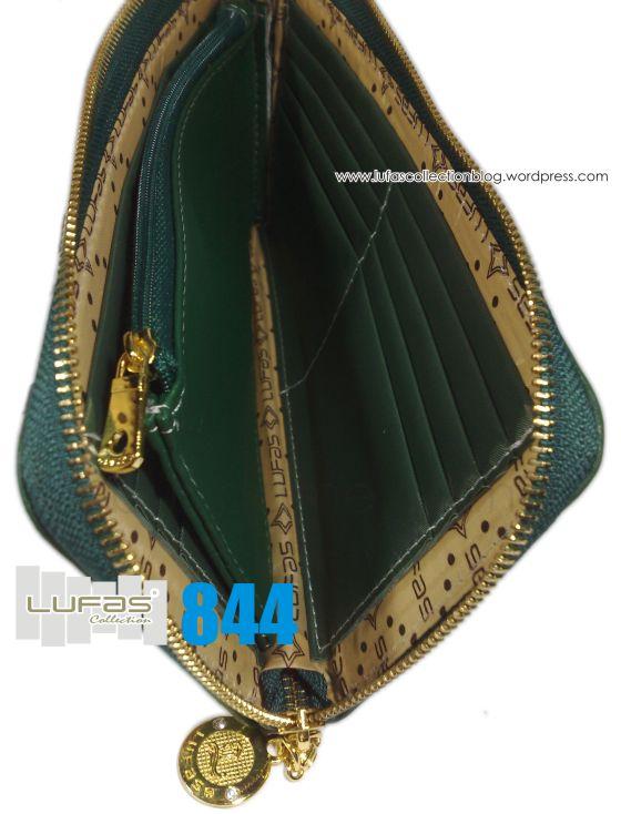 dompet lufas 844 - bagian dalam