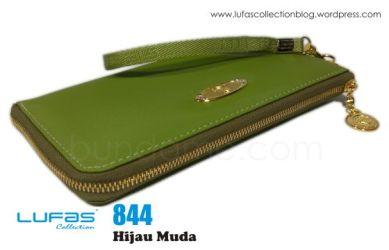 dompet lufas 844 hijau muda 2