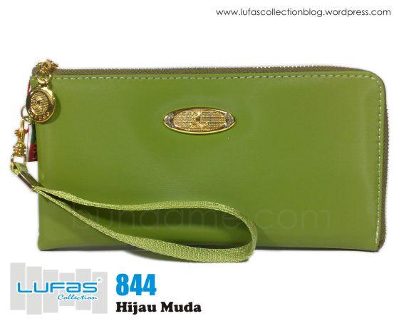 dompet lufas 844 hijau muda