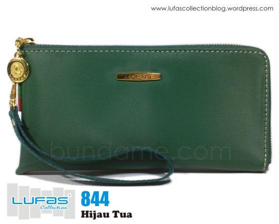 dompet lufas 844 hijau tua
