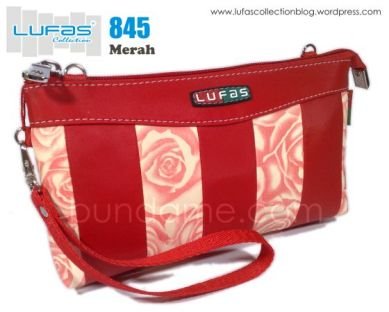 dompet lufas 845 merah
