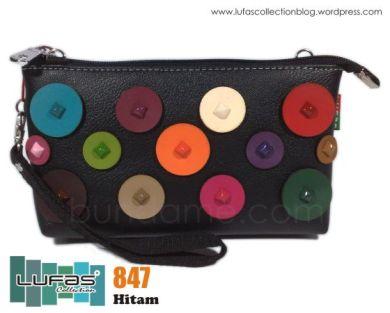 dompet lufas 847 hitam