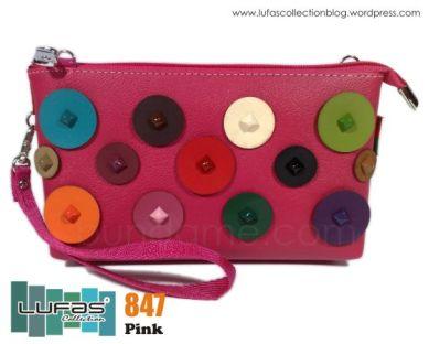 dompet lufas 847 pink