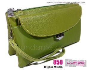 dompet lufas 850 hijau muda