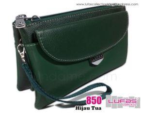 dompet lufas 850 hijau tua