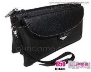 dompet lufas 850 hitam