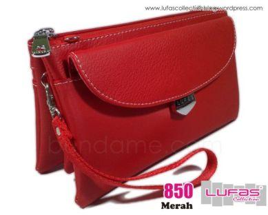dompet lufas 850 merah