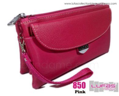 dompet lufas 850 pink