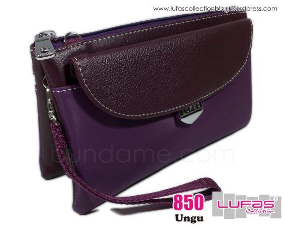 dompet lufas 850 ungu