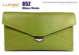 dompet tas lufas 852 hijau muda