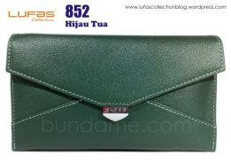 dompet tas lufas 852 hijau tua