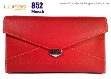 dompet tas lufas 852 merah