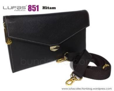dompet lufas 851 hitam