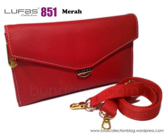 dompet lufas 851 merah