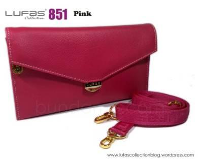 dompet lufas 851 pink