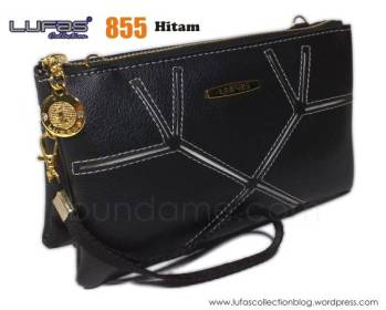 dompet lufas 855 hitam