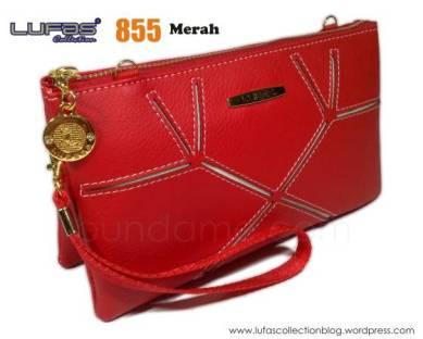 dompet lufas 855 merah