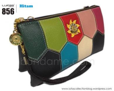 dompet lufas 856 hitam