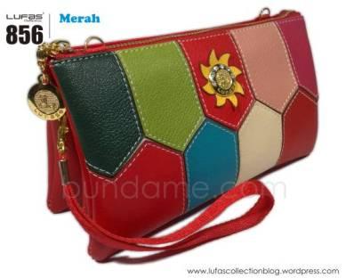 dompet lufas 856 merah