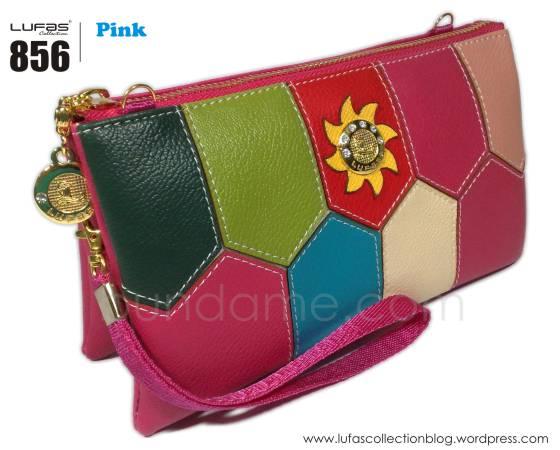 dompet lufas 856 pink
